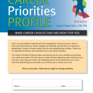 Career Priorities Profile, 3rd Edition